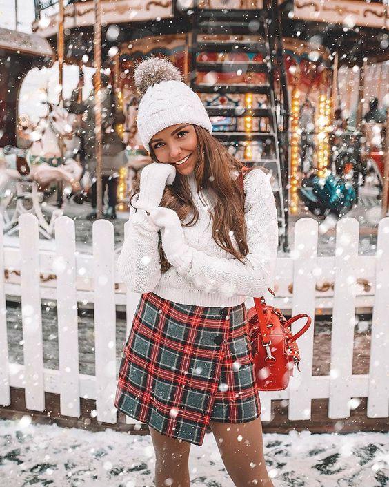 mũ len và trang phục noel