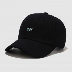 mũ lưỡi trai Off đen